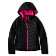 Vertical 9 Hooded Softshell Jacket - Girls 6-16