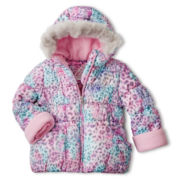 ZeroXposur® Hooded Puffer Jacket – Girls 2t-6t