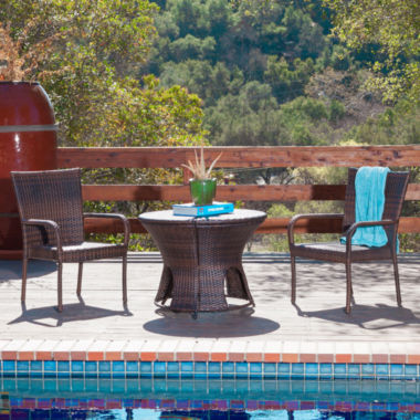 jcpenney.com | Portsmouth 3-pc. Outdoor Wicker Dining Set