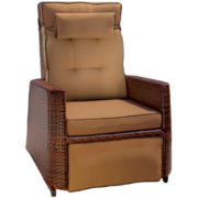 Grayton Outdoor Wicker Rocking Recliner