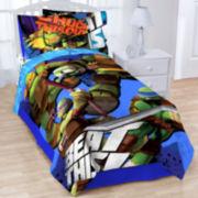Teenage Mutant Ninja Turtles Heroes Blanket