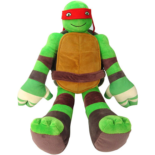 nickelodeon Teenage Mutant Ninja Turtles Raphael Pillow Buddy