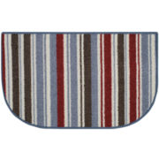 Double Stripes Washable Wedge Rug