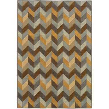 jcpenney.com | Covington Home Oblique Indoor/Outdoor RectangularRug