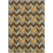 Oblique Indoor/Outdoor Rectangular Rug
