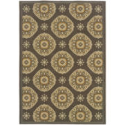 Sand Dollar Indoor/Outdoor Rectangular Rug