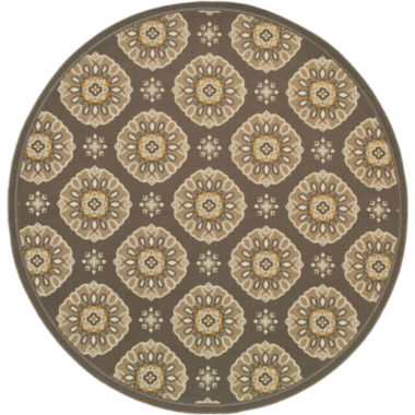 jcpenney.com | Covington Home Sand Dollar Indoor/Outdoor Round Rug