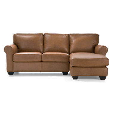 jcpenney.com | Leather Possibilities 2-pc. Right-Arm Chaise/Loveseat Sectional