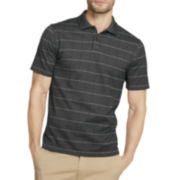 Van Heusen® Short-Sleeve Windowpane Polo Shirt