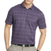 Van Heusen® Short-Sleeve Windowpane Polo Shirt