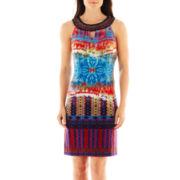 Studio 1® Sleeveless Keyhole Dress