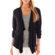 Liz Claiborne Long-Sleeve Cardigan Sweater