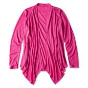 Total Girl® Flyaway Cardigan - Girls 6-16 and Plus