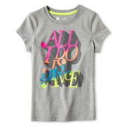 Xersion™ Core Graphic Short-Sleeve Tee - Girls 6-16 and Plus