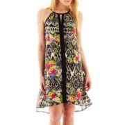 nicole by Nicole Miller® Sleeveless High-Low Shift Dress