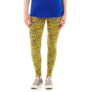 City Streets® Wide-Waistband Leggings