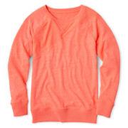 Xersion™ Fashion Sweatshirt- Girls 6-16 and Plus
