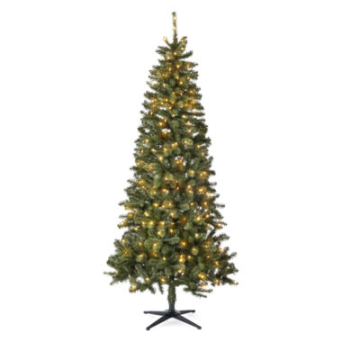 jcpenney.com | North Pole Trading Co. 7.5' Berkley Blue Spruce Pre Lit Tree