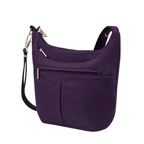 Anti-Theft Classic Light Slouch Hobo Bag