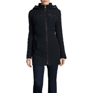 jcpenney.com | St. John's Bay® Front-Zip Quilt Jacket