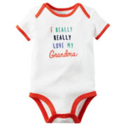 Carter's® Short-Sleeve Love My Grandma Bodysuit - Baby Boys newborn-24m