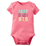 Carter's® Short-Sleeve Best Sister Bodysuit - Baby Girls newborn-24m