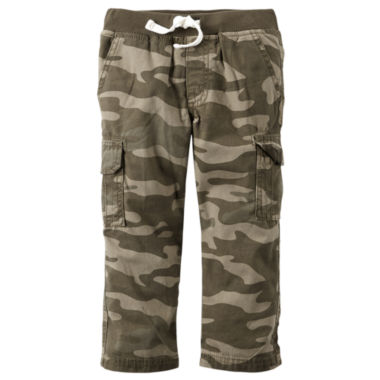 jcpenney.com | Carter's® Camo Cotton Cargo Pants - Boys 4-8