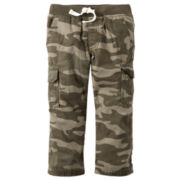 Carter's® Camo Cotton Cargo Pants - Boys 4-8