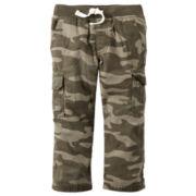 Carter's® Camo Cotton Cargo Pants - Boys 4-8