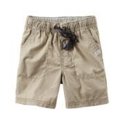 Carter's® Khaki Woven Shorts - Boys 4-8