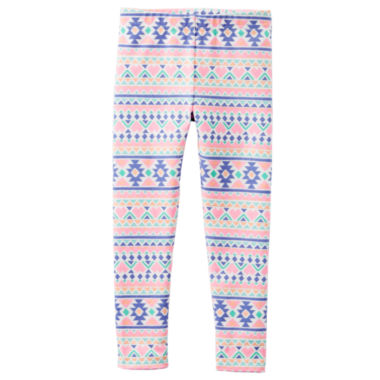 jcpenney.com | Carter's® Multicolored Knit Leggings - Girls 4-6x
