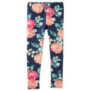 Carter's® Navy Knit Leggings - Girls 4-8