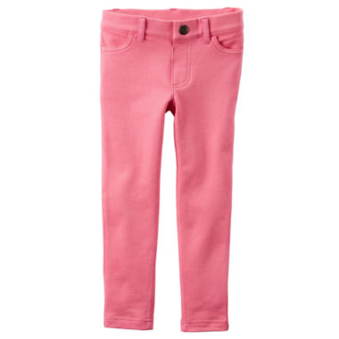 jcpenney.com | Carter's® Pink Jeggings - Girls 4-8