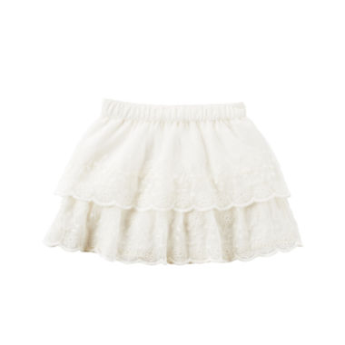 jcpenney.com | Carter's® Ivory Lace Two-Tiered Tulle Skirt - Girls 4-8