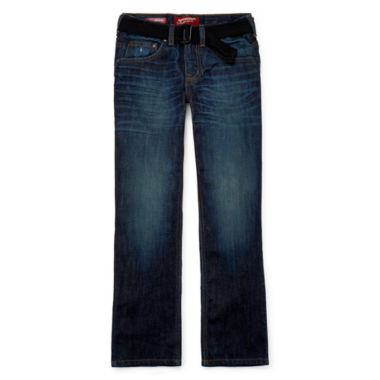 jcpenney.com | Arizona Belted Original-Fit Jeans - Boys 8-20, Slim and Husky