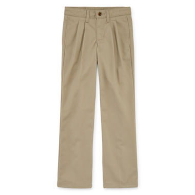 jcpenney.com | Arizona Pleated-Front Pants - Preschool Boys 4-7 and Slim