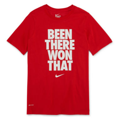 jcpenney.com | Nike® Short-Sleeve Graphic Tee - Boys