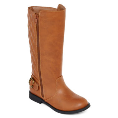 jcpenney.com | Arizona Harley Cognac Girls' Riding Boots - Little Kids