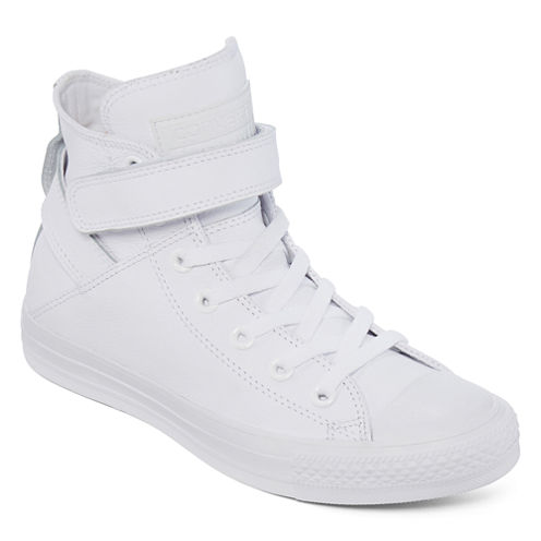 Converse® Chuck Taylor All Star Brea Womens Leather Sneakers