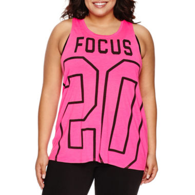 jcpenney.com | City Streets® Muscle Graphic Tank Top - Juniors Plus
