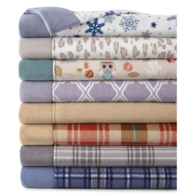 jcpenney.com | JCPenney Home™ Set of 2 Fleece Standard Pillowcases