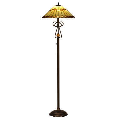 jcpenney.com | Dale Tiffany™  LED Jerome Floor Lamp
