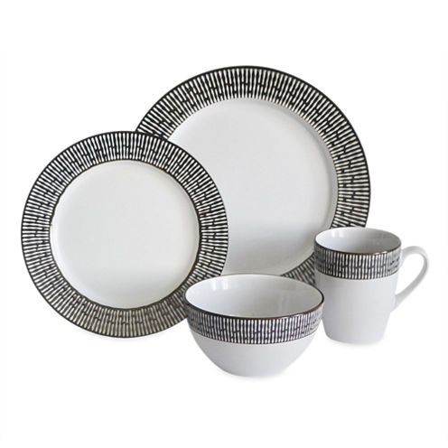 Baum Patina 16-pc. Ceramic Dinnerware Set
