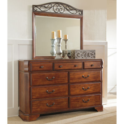 Signature Design by Ashley® WYATT DRESSER AND MIRROR