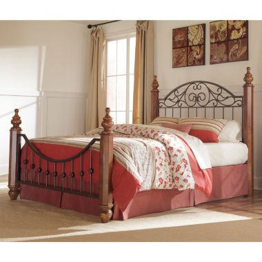 jcpenney.com | Signature Design by Ashley®  WYATT KING BED