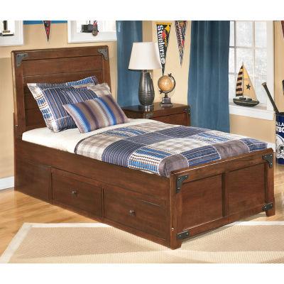 Signature Design by Ashley® DELBURNE TWIN PLATFORM PEDESTAL BED