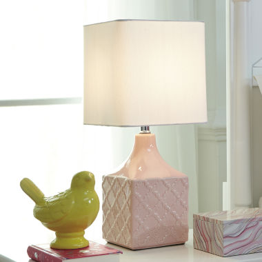 jcpenney.com | Signature Design by Ashley® Simmone Pink Table Lamp