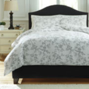 Signature Design by Ashley® Floria 3-pc. Duvet Cover Set