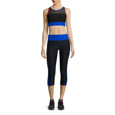 jcpenney.com | Xersion™ Mesh Maxi Bra or Colorblock Inset Capris