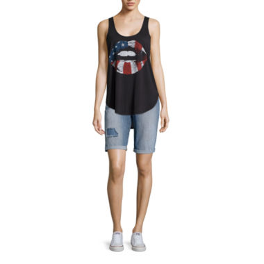 jcpenney.com | Americana Tank Top or Bermuda Shorts
